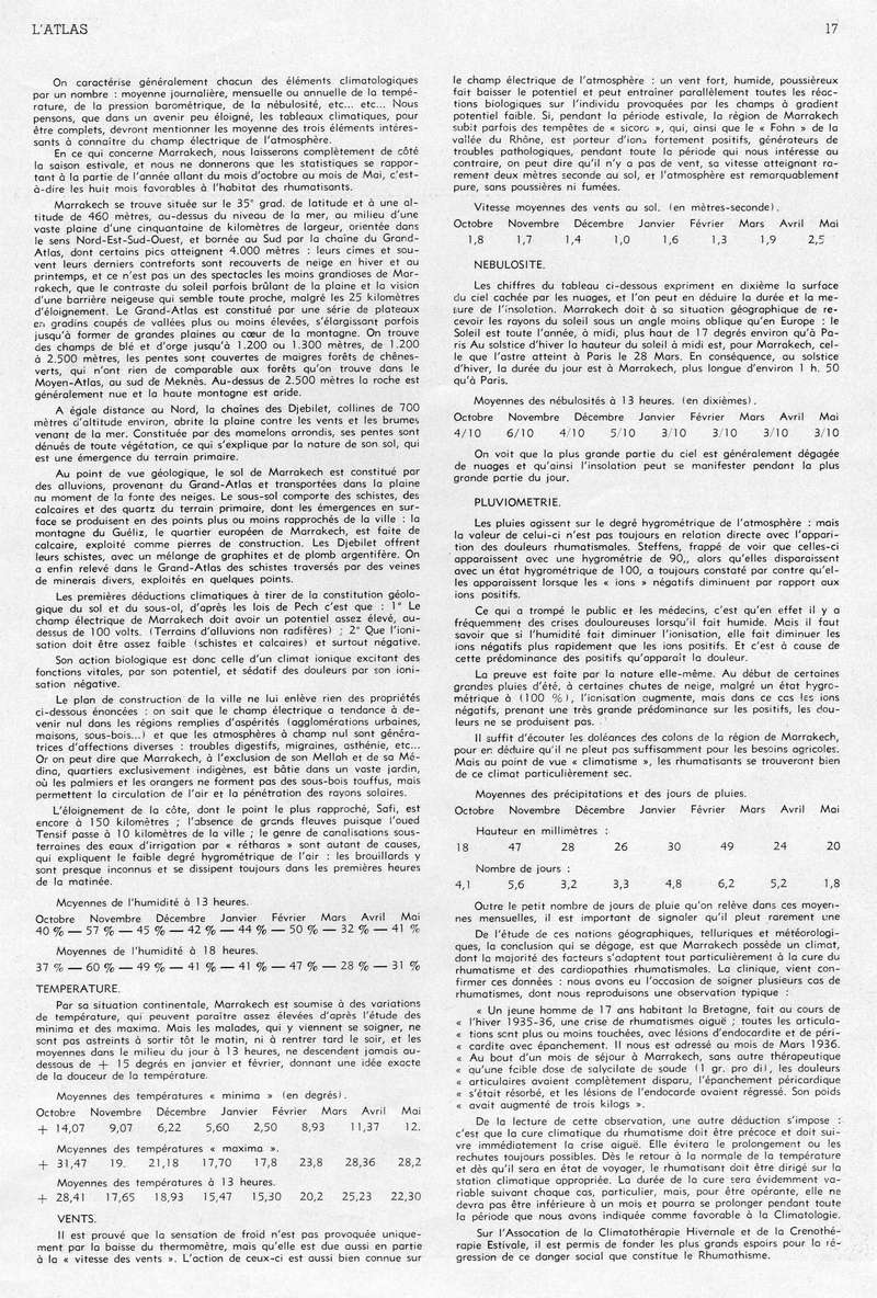 Tourisme et Hivernage. 08-1710
