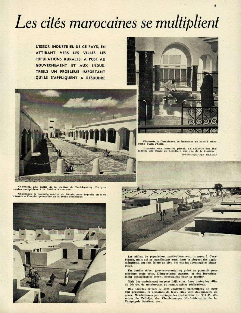 Evolution du Maroc en 1951. 09-sws11