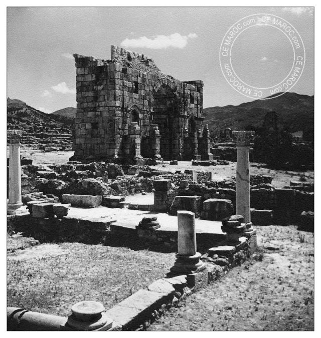 Volubilis, antiquités. 1-0310