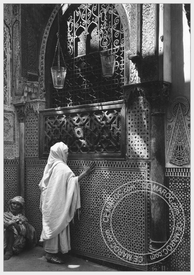 Fez : Manifestations religieuses, personnalités, réception.   1-10110