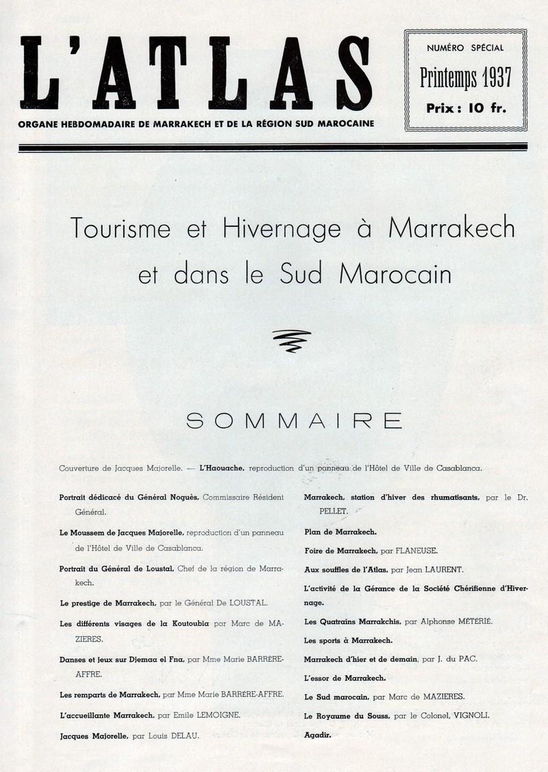 Tourisme et Hivernage. 1-110