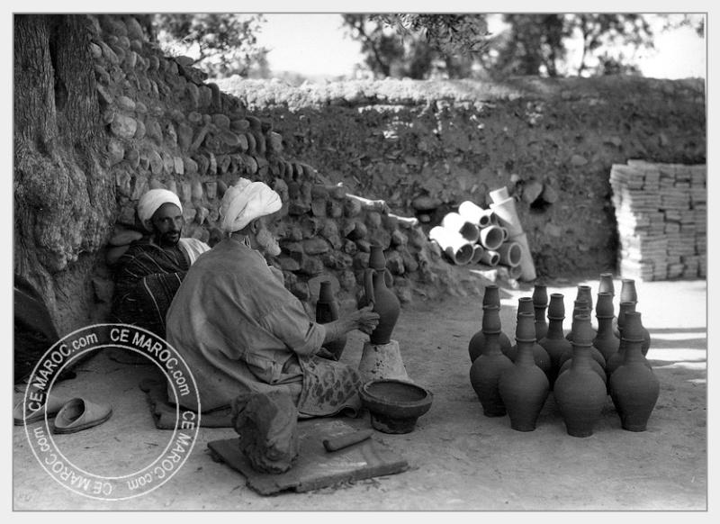 Fez : les potiers et la céramique. 11-16010