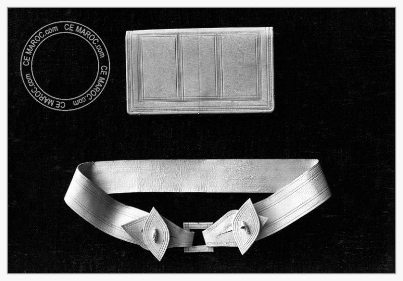 Fez : les tanneurs et l'artisanat du cuir. 13-20010