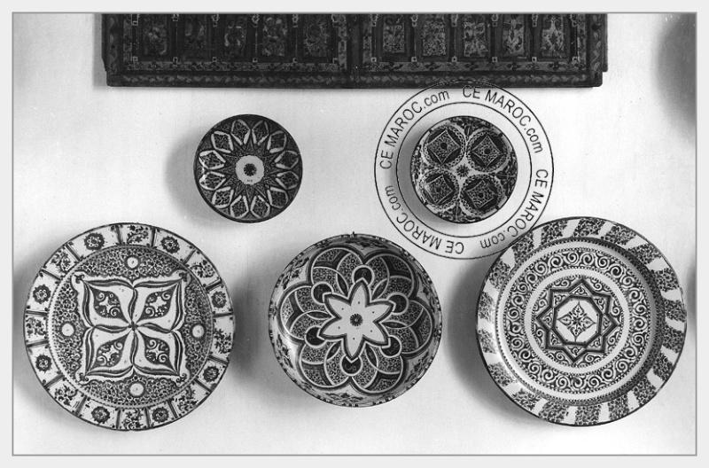 Fez : les potiers et la céramique. 14-18810