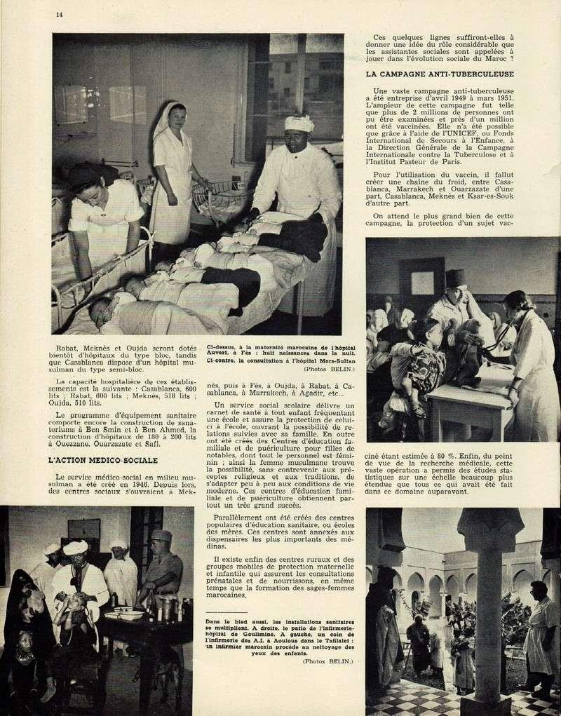 Evolution du Maroc en 1951. 14-sws11