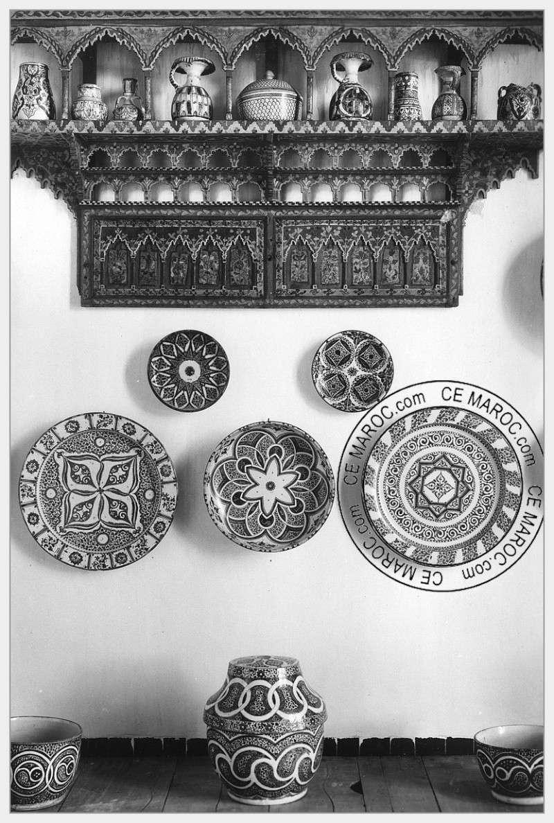 Fez : les potiers et la céramique. 16-18210