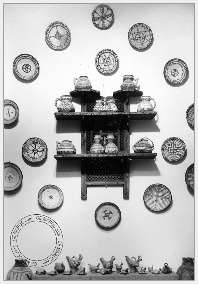 Fez : les potiers et la céramique. 17-18110