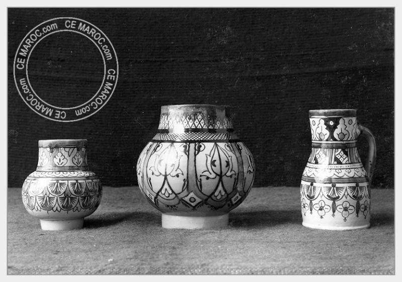 Fez : les potiers et la céramique. 18-18010