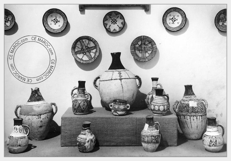 Fez : les potiers et la céramique. 19-17910
