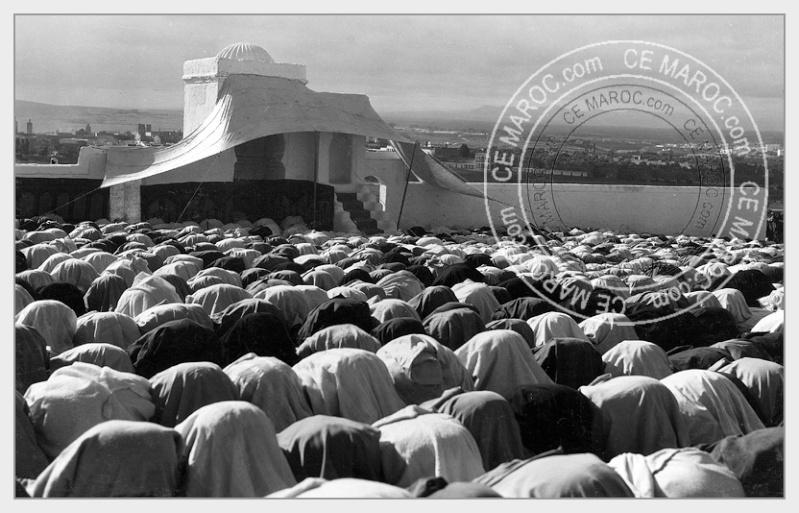 Fez : Manifestations religieuses, personnalités, réception.   2-8610