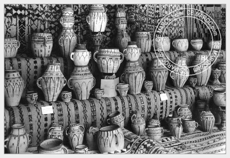 Fez : les potiers et la céramique. 20-17810