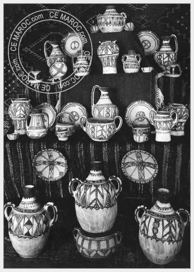 Fez : les potiers et la céramique. 22-17610