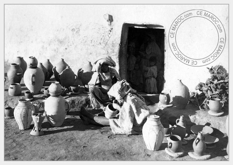Fez : les potiers et la céramique. 26-17110