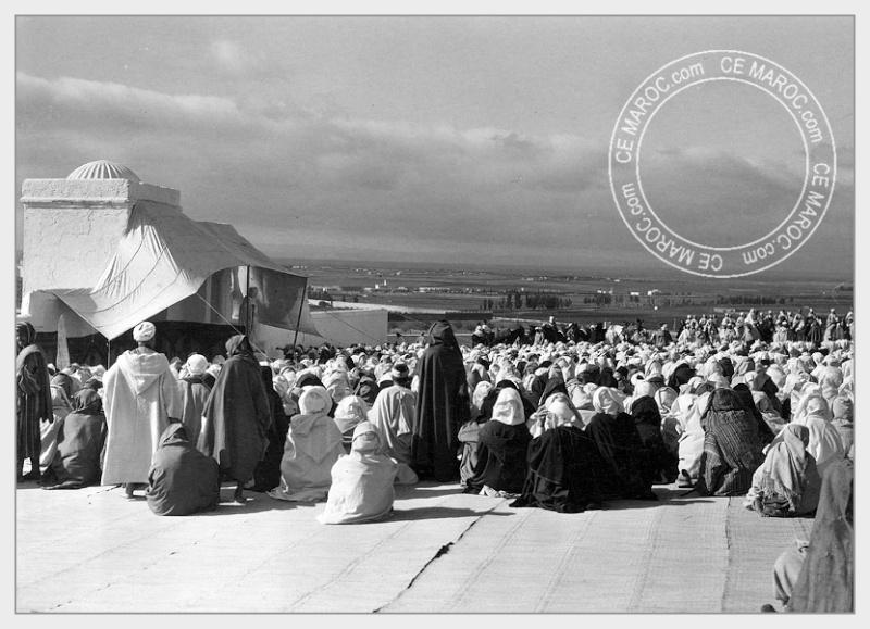 Fez : Manifestations religieuses, personnalités, réception.   3-7810