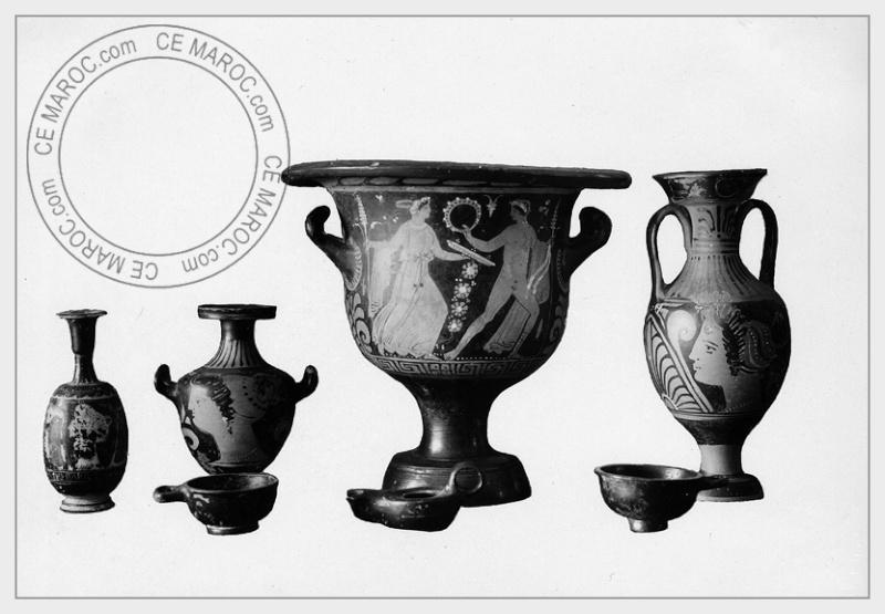 Volubilis, antiquités. 4-28610
