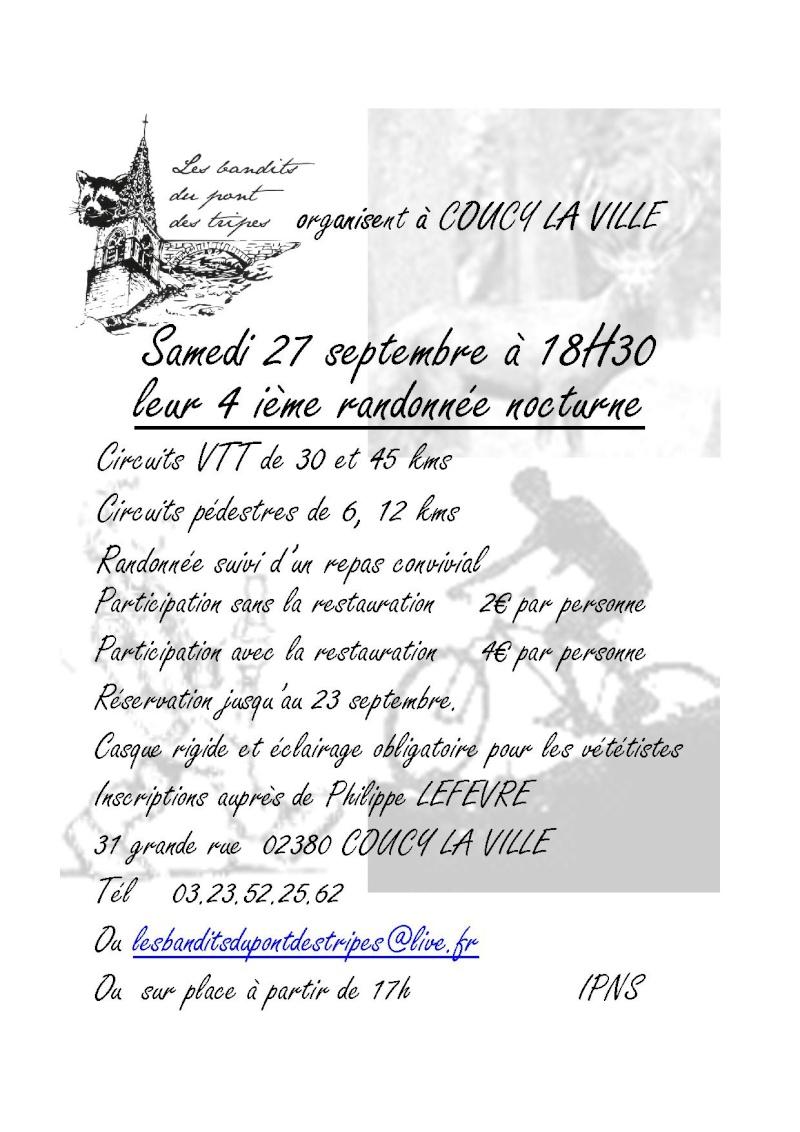 Randonnée nocturne de Coucy la Ville - 27 septembre 2014 Affich11