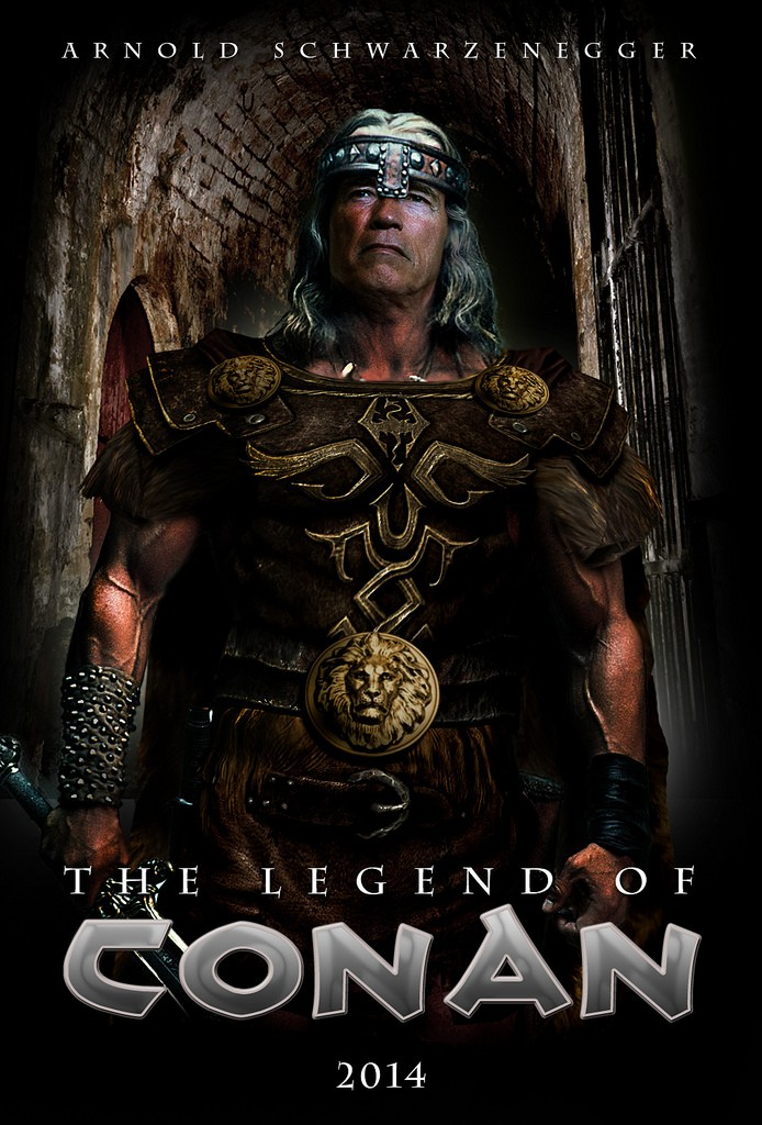 The legend of Conan Poster10
