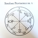 Listing pentacles et talismans - Protection Saturn13