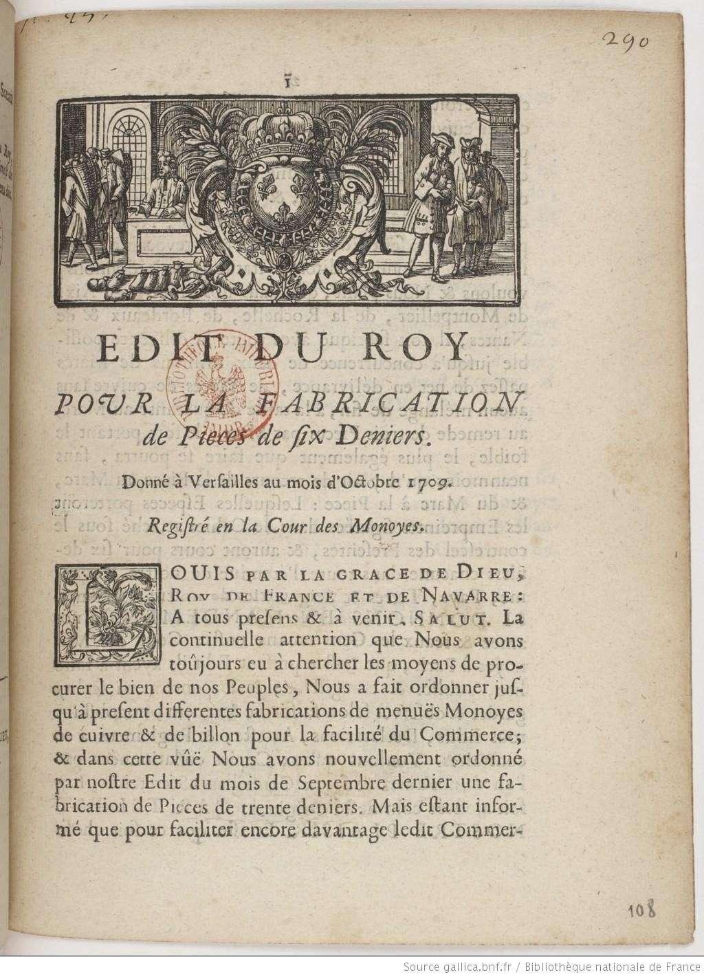 """Mes Six deniers dits """"Dardennes"""" pour Louis XIV et leur histoire Adit1_10"""