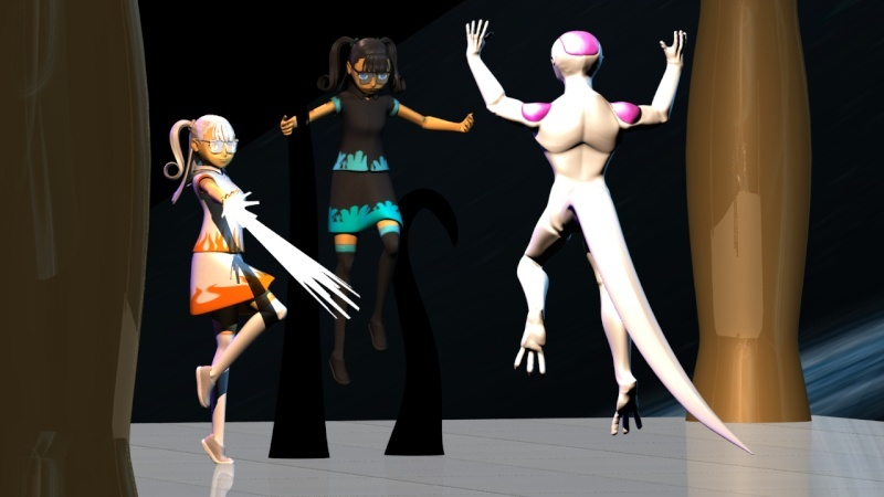 Tate's renders -- Now in college Frieza11
