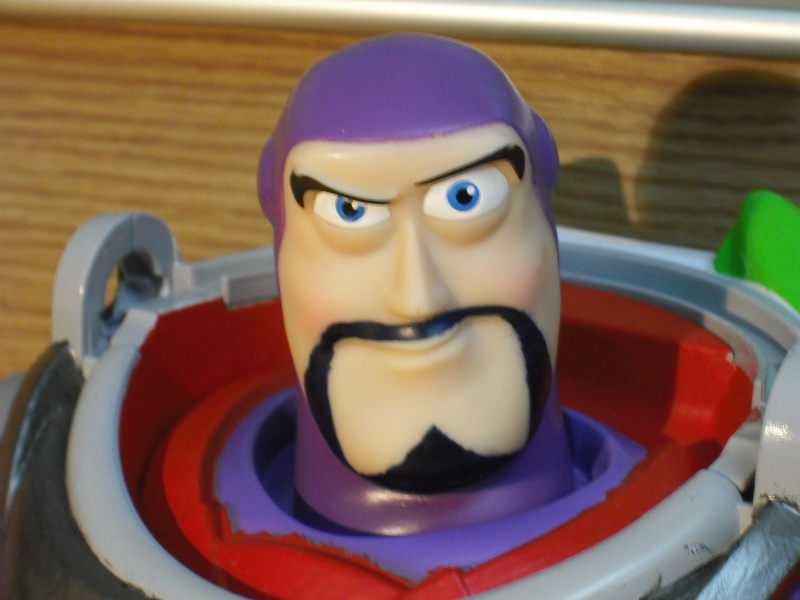 """Custom 12"""" Evil Buzz Lightyear Figure Dscf1312"""