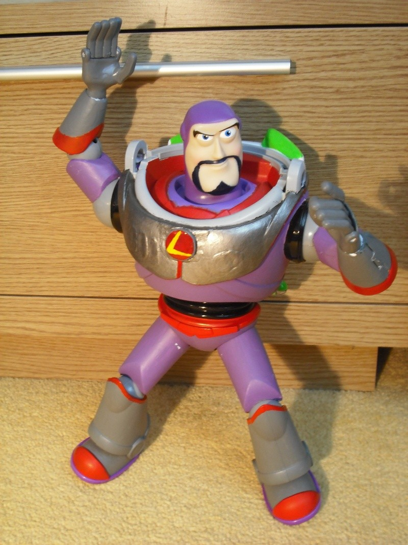 """Custom 12"""" Evil Buzz Lightyear Figure Dscf1314"""