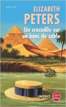[Peters, Elizabeth] Un crocodile sur un banc de sable Peters10