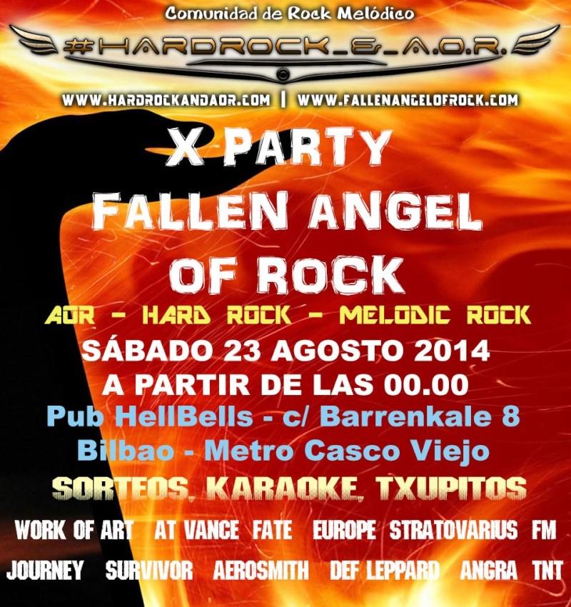 X PARTY FALLEN ANGEL OF ROCK, 23 Agosto (BILBAO) Party210