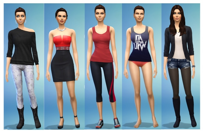 Ina's Sims 4 Characters Danaou10