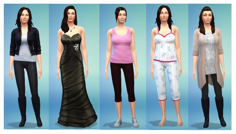 Ina's Sims 4 Characters Inaout10