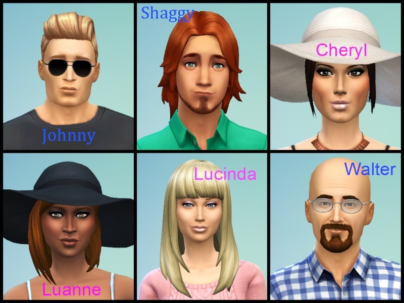 Ina's Sims 4 Characters Sims4s11