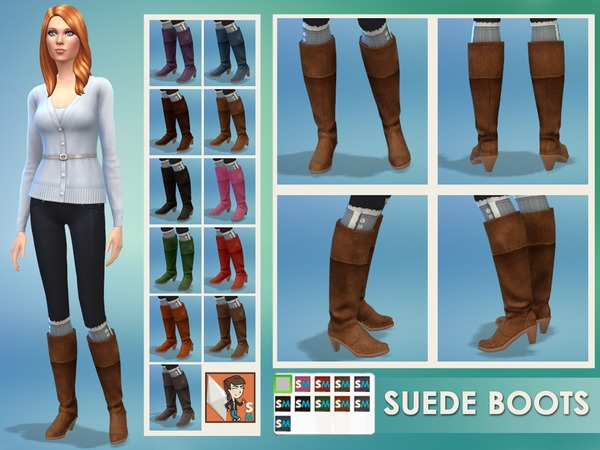 Suede Boots by SimplyMorgan77 W-600h27