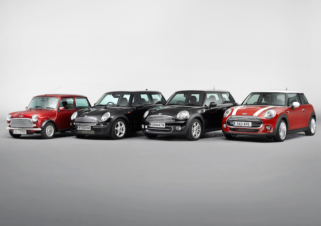 "The new MINI: a present-day original and ""Classic of the Future"" P9013910"