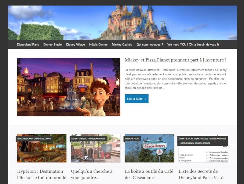 [Blog] Les Secrets de Disneyland Paris / 2° version de la Liste ! Design10
