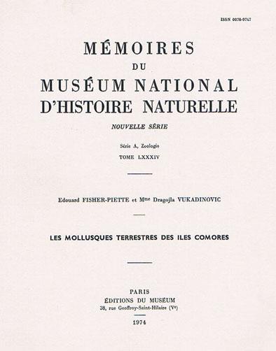 Bibliothèque de malacologie continentale Fische13
