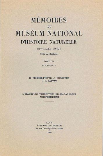 Bibliothèque de malacologie continentale Fische14