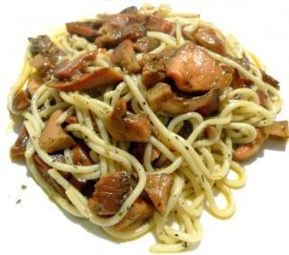 Espaguetis con níscalos Espagu10