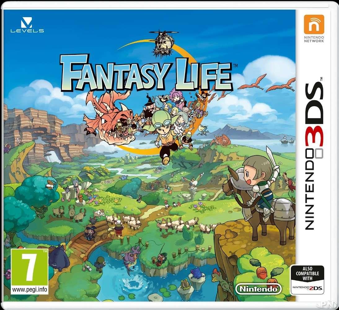 [3DS] Fantasy Life 53d12d10
