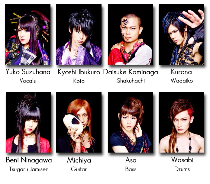 [J-Rock/Traditionnel] Wagakki Band Member10