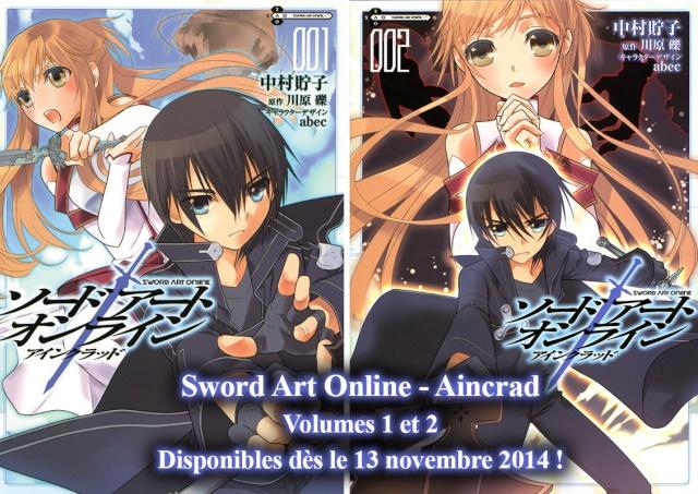 "Le manga de ""Sword Art Online"" chez Ototo ! Sao-pr10"