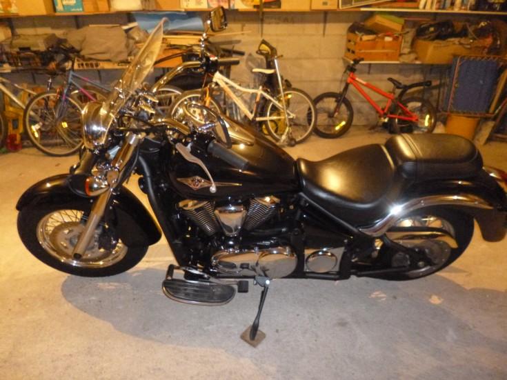 Kawasaki VN 900 Classic de 2012 Vn_90012