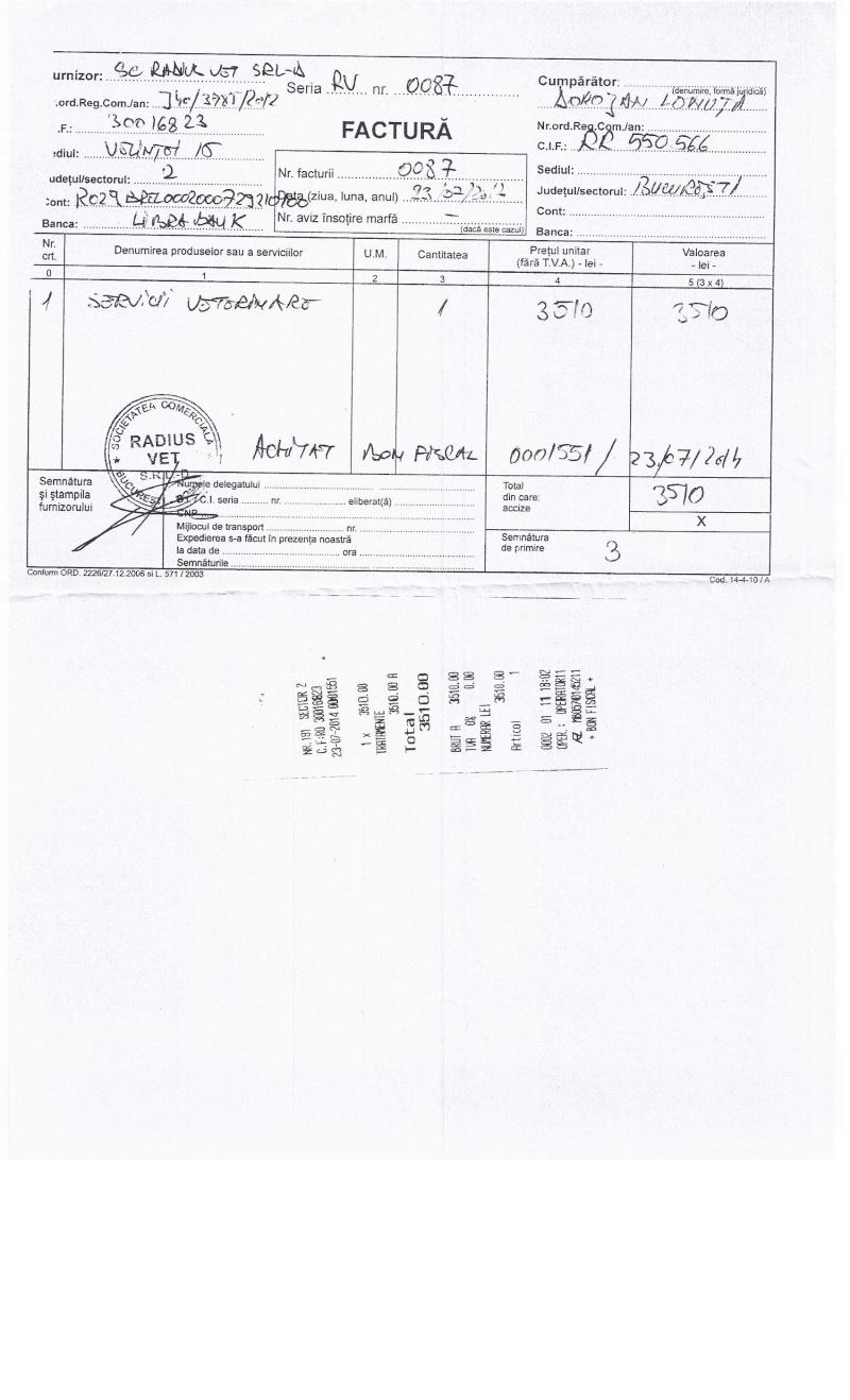 CAGNOTTE FRAIS VETERINAIRE POUR LES LOULOUS DU REFUGE - Page 3 Factur11