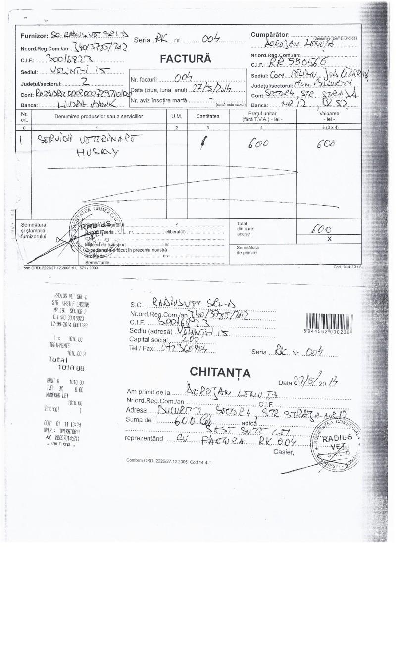 APPEL AUX DONS POUR PAYER LES FACTURES VETERINAIRES DES LOULOUS DE LENUTA - Page 3 Factur14