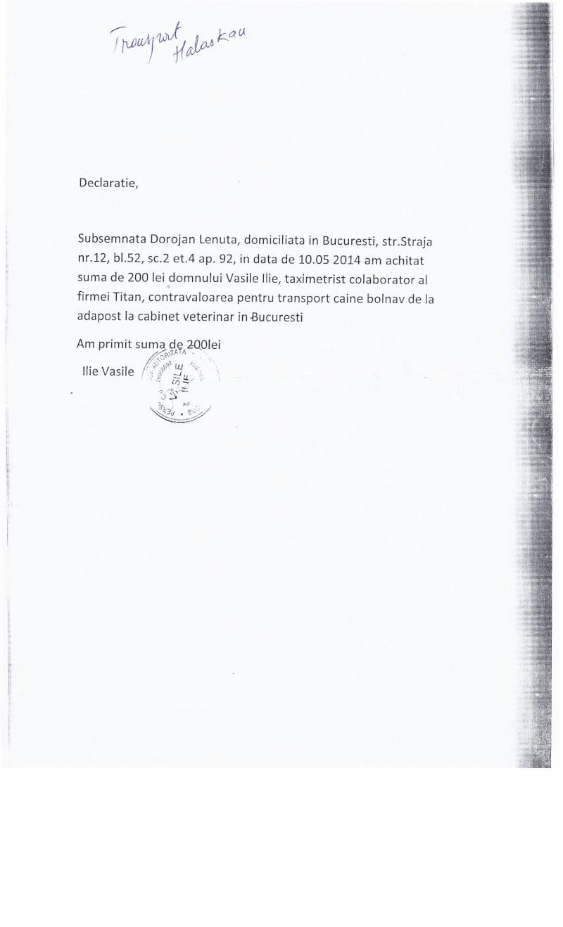CAGNOTTE FRAIS VETERINAIRE POUR LES LOULOUS DU REFUGE - Page 3 Factur15