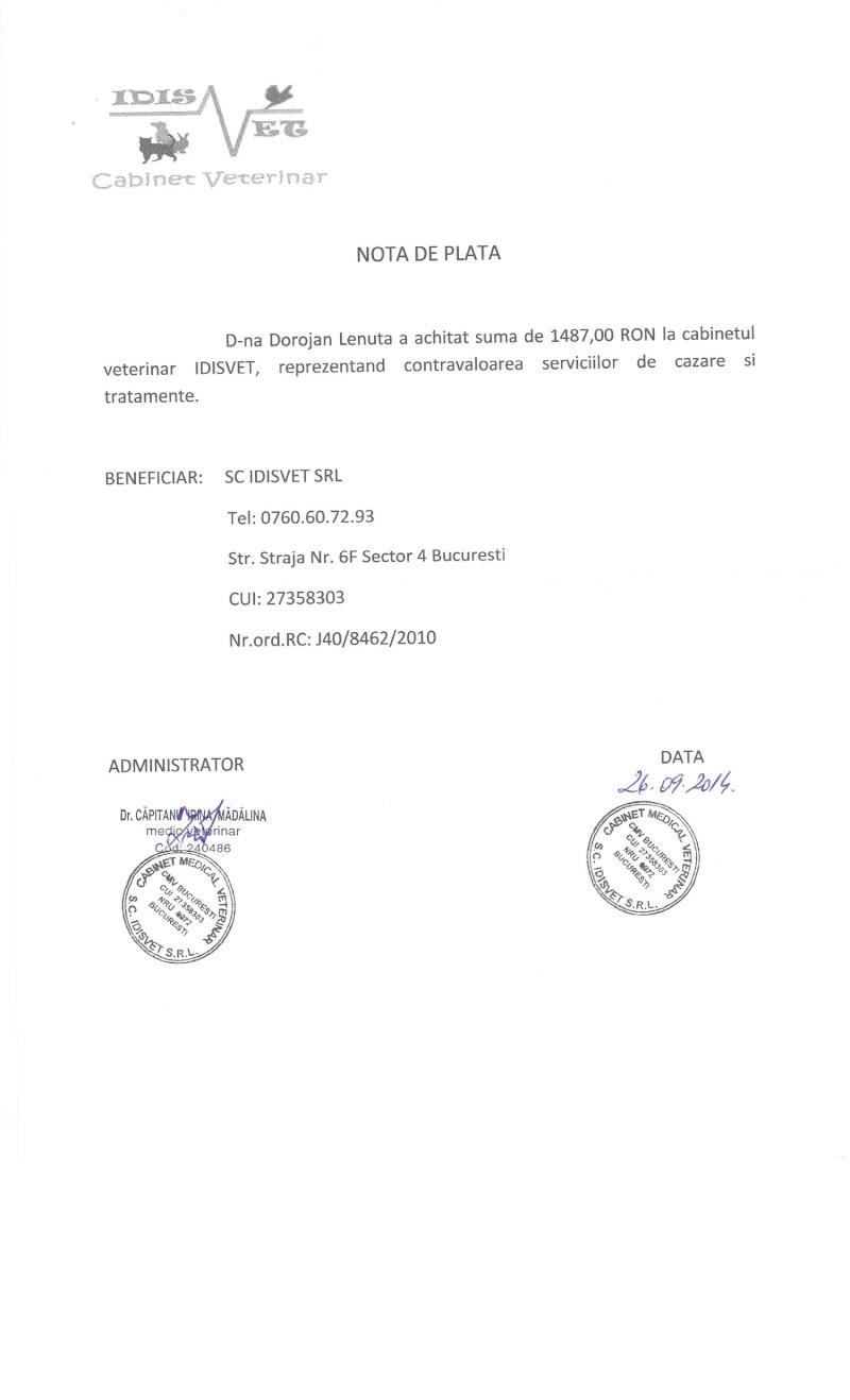 APPEL AUX DONS POUR PAYER LES FACTURES VETERINAIRES DES LOULOUS DE LENUTA - Page 3 Factur17