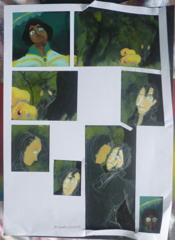 Saphirina a sorti ses crayons ! - Page 28 Recont10