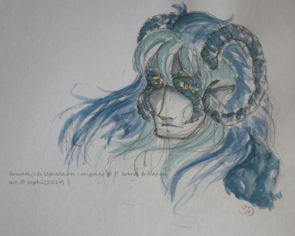 Saphirina a sorti ses crayons ! - Page 28 Samael10