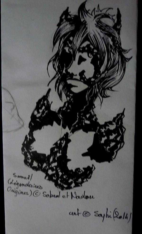 Saphirina a sorti ses crayons ! - Page 28 Samael11