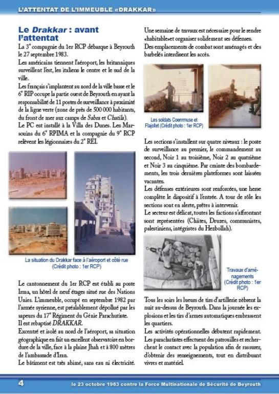 Plaquette DRAKKAR, du camp d'Idron au Liban 4_drak11