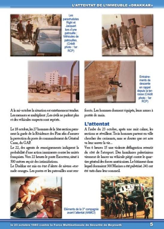 Plaquette DRAKKAR, du camp d'Idron au Liban 5_drak12